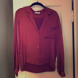VINTAGE CALVIN KLEIN silk blouse